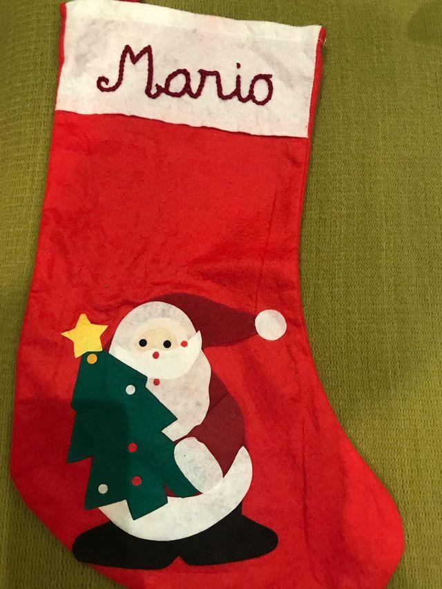 Calcetín Papá Noel
