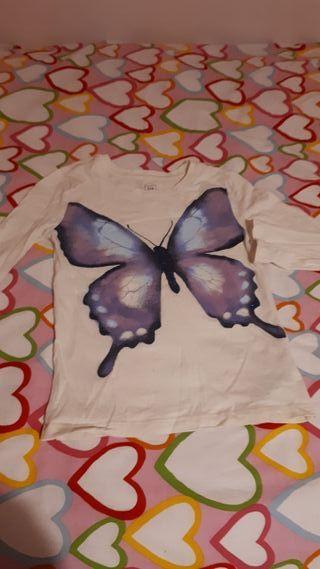 Camiseta niña Gap 6 añosh