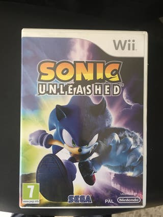 Sonic unleashed para nintendo wii