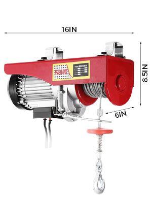 Polipasto eléctrico 230v 350/700KG