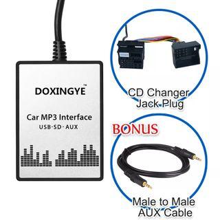 BMW E39 X3 X5 Z4 Z8 MINI R5x USB SD Adapté AUX Coc