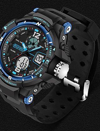 reloj deportivo hombre digital cuarzo lujo casual