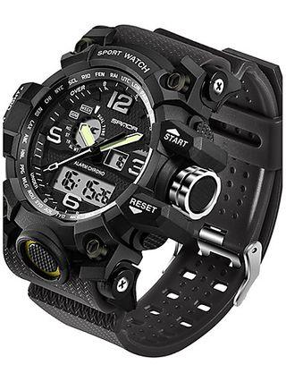 reloj de pulsera hombre digital acuatico 30 metros