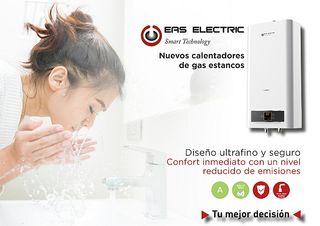 Calentador de agua 11l. estanco