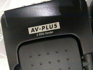 Transmisor inalambrico de Audio y Video