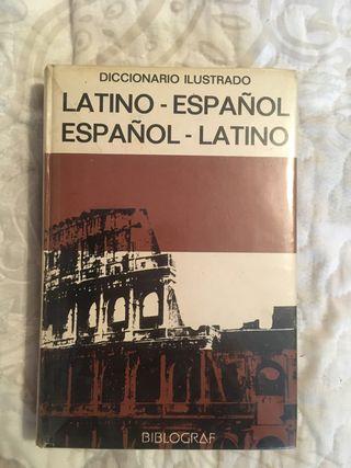 Libro diccionario latino-español