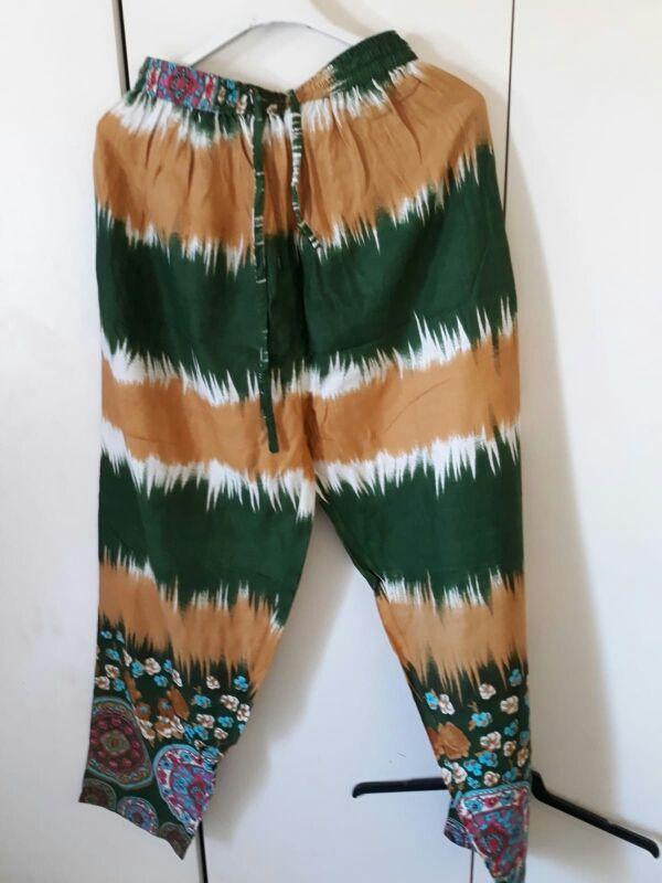 pantalon de tela para chica.