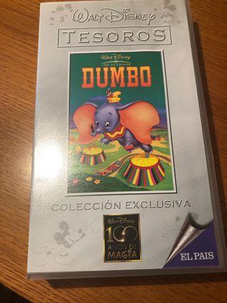 Pelicula VHS. Dumbo.