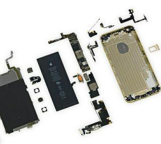 vendo despiece iphone 6 plus dorado