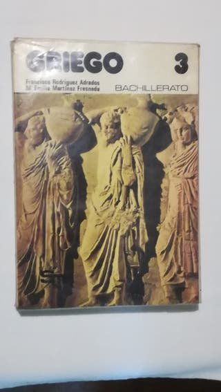 Griego. Libro de texto, 3° BUP.