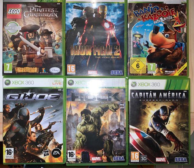 Xbox 360 Slim 250 GB + juegos y mandos