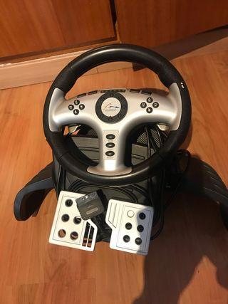Volante PlayStation 2 edición Fernando Alonso