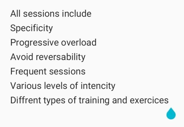 Tailored personal training programs