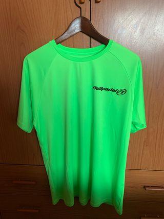 Camiseta tecnica bullpadel nueva... talla L