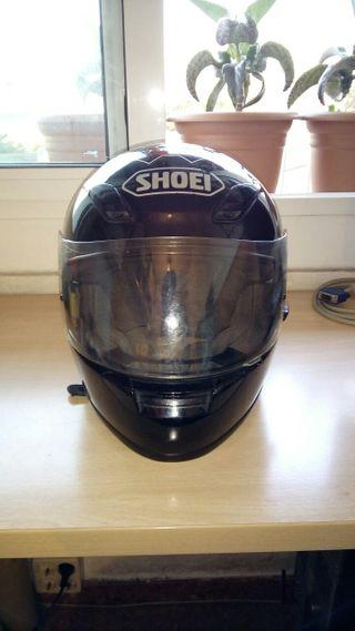 Casco moto Shoei helmet xr 1000 negro