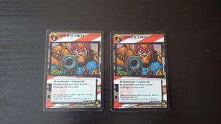 Juez Dredd juego de cartas coleccionables