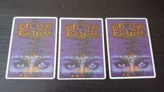On the Edge juego de cartas coleccionables