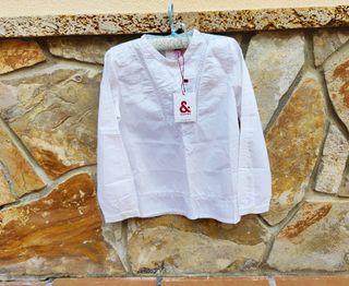 Camisa entretiempo Neck c/etiqueta 6-7 años