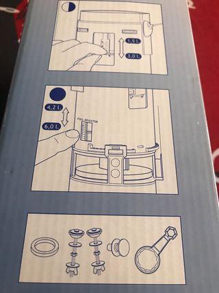 Pulsador Descarga WC