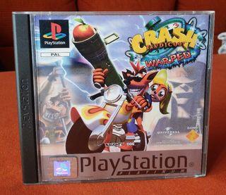 Crash Bandicoot 3: Warped - PS1