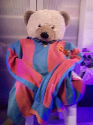 peluche oso,camiseta Barca..Cule