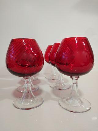 Copas vintage cristal diseño