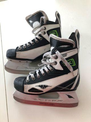 Patines hockey sobre hielo