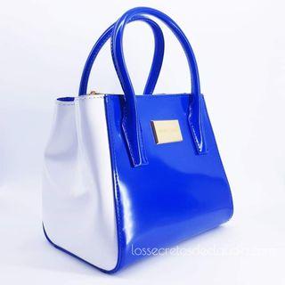 NUEVO bolso BIMBA Y LOLA azul eléctrico
