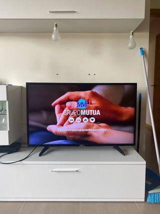 LG 43 pulgadas LED HD Smart TV