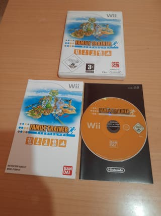 FAMILY TRAINER NINTENDO Wii.