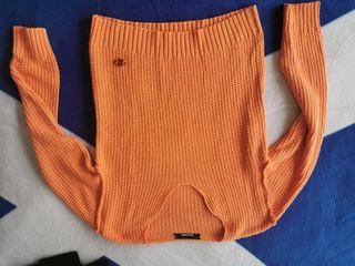 Jersey naranja talla S