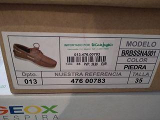 zapatos nauticos brotes talla 35