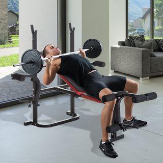 Banco de Pesas Multifuncional para Musculación
