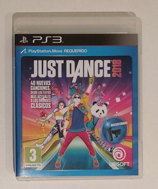 Videojuego PS3 Just Dance 2018
