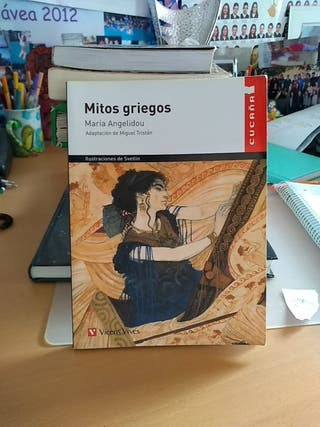 Mitos griegos, María Angelidou