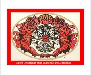 Discoteca Drac Roig adhesivo