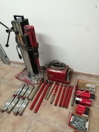 perforadora hilti para hormigón completa