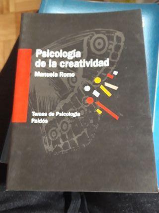 Libro Psicologia de la creatividad.