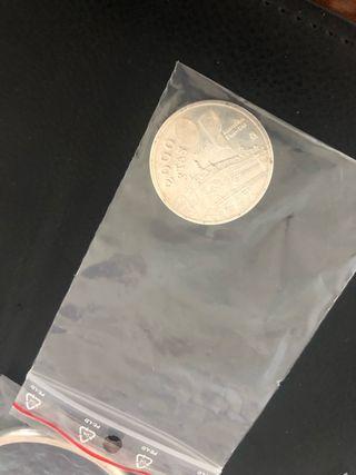 Moneda plata 2000 Pts 1994 plata