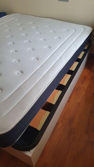 Pack canapé 150cm + colchon visco