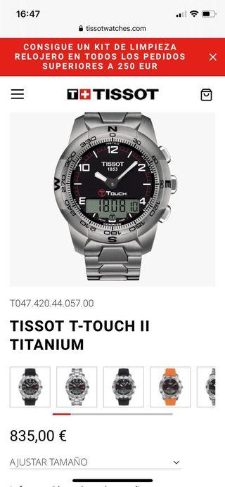 Tissot t-touch2 titaneo