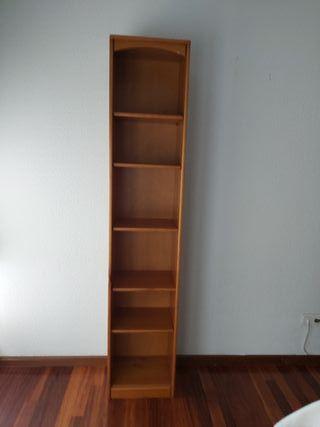 estanteria de madera pino alto 2'00 x 40 x 32 cm