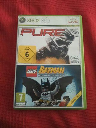 PURE Y LEGO BATMAN XBOX360