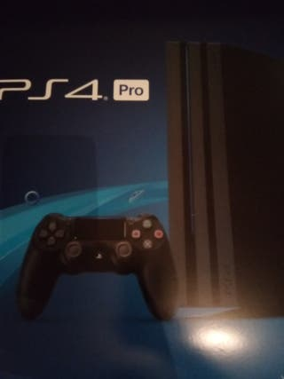 PS4 PRO 1TB BOXES