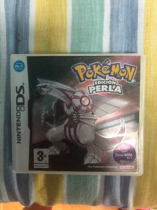 Juego Pokémon Perla Nintendo 3DS