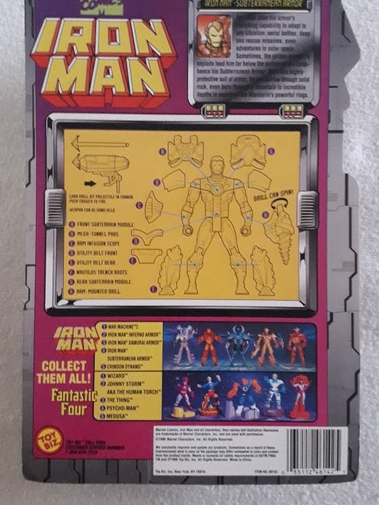 Iron Man Toybiz