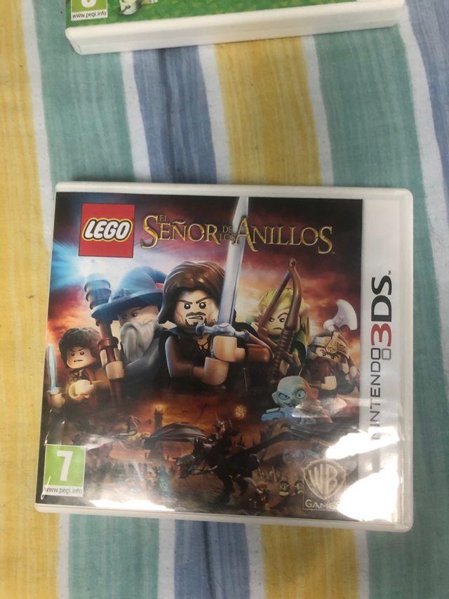 Juego el señor de los anillos Lego 3DS