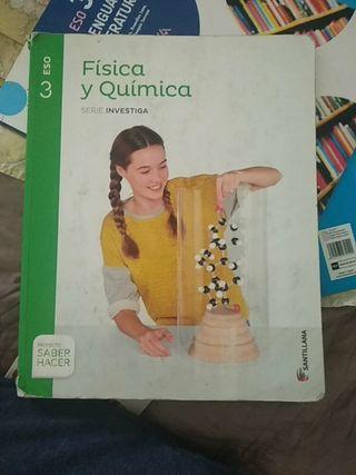 libro de física y química 3° eso