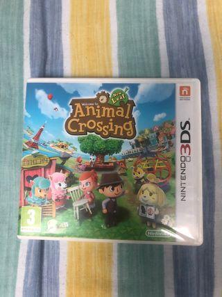 Juego Animal crossing Nintendo 3DS