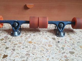 ejes longboard